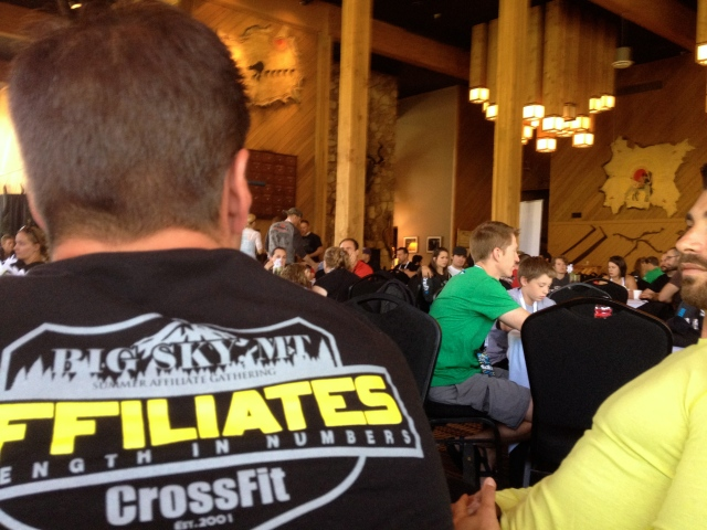 What matters: CrossFit affilites.